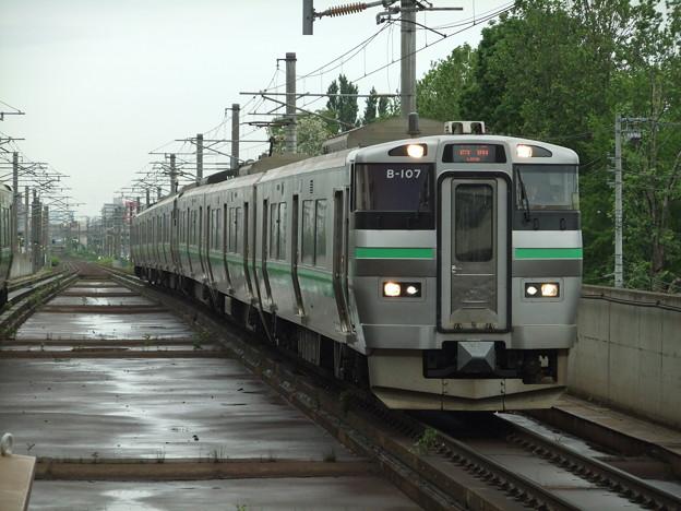 函館線733系 B-107編成他6両編成