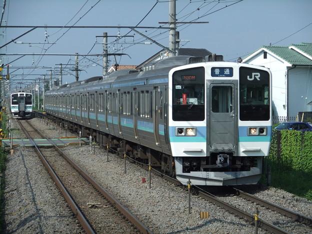 中央線211系0番台 N608編成
