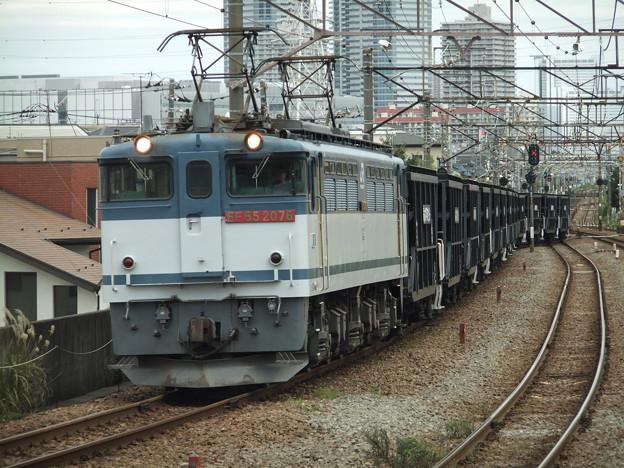 EF65 2076+ホキ
