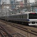 常磐線・上野東京ラインE531系 K412編成他15両編成