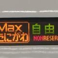 [E4系][Maxたにがわ]自由席