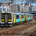 Photos: 水郡線キハE131形 キハE131-6+キハE132-6
