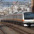 Photos: 中央快速線E233系0番台 H55編成