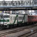烏山線キハ40系1000番台 キハ40 1009+キハ40 1004