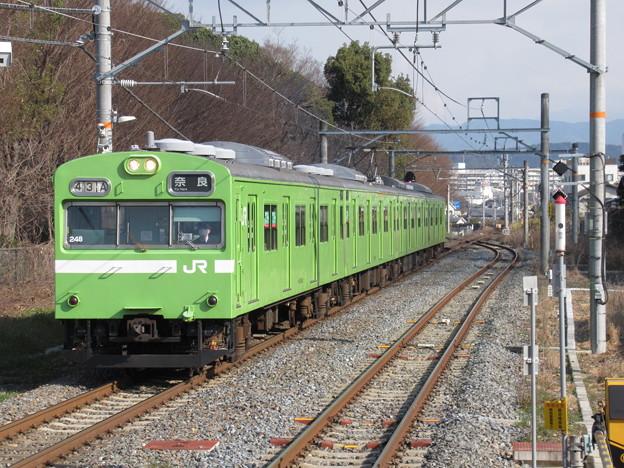 奈良線103系 NS412編成