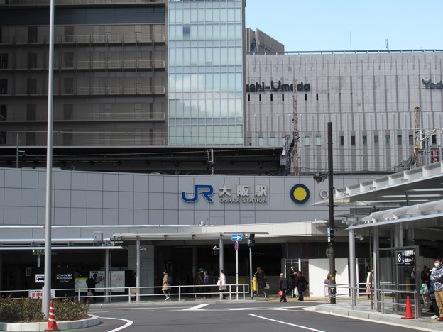 [JR西日本]大阪駅 御堂筋口