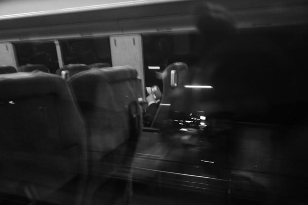 写真: 深夜急行