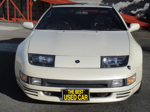 日産 Z32フェアレディZ パールホワイト (1)