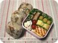 11.07 鶏牛蒡ご飯のおにぎり弁当(長女)242