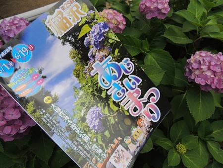 6/11(土) 稲沢の あじさいまつりで いなッピーとか、JA感謝祭でラヴィーナサーティとか。