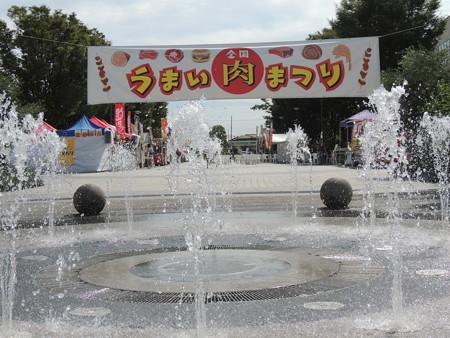 9/19(祝) 太田川駅前で 全国うまい肉まつり きーぼーやオカザえもんたちに会いました。