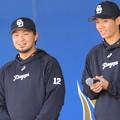 Photos: 田島選手&岡田選手。
