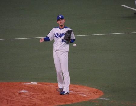 佐藤優投手。