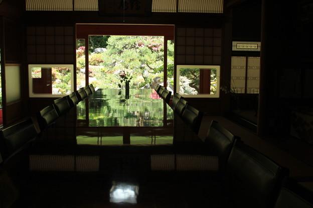 写真: お庭拝観