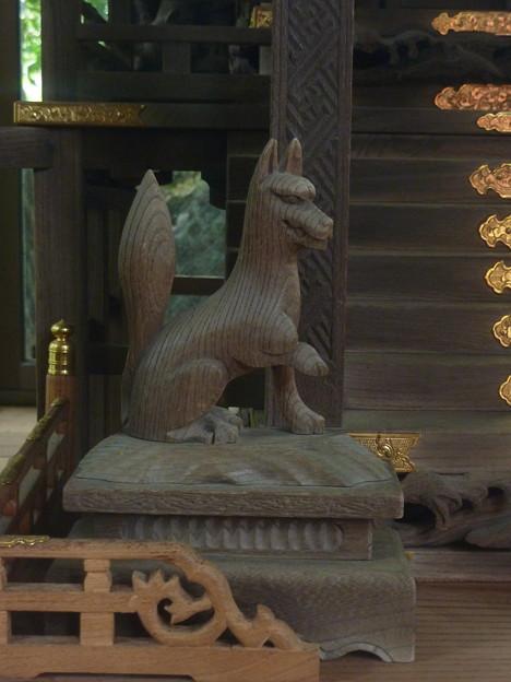 笑福稲荷大明神(月見岡八幡神社 内) 09