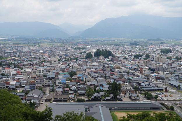 大野市街を望む 2