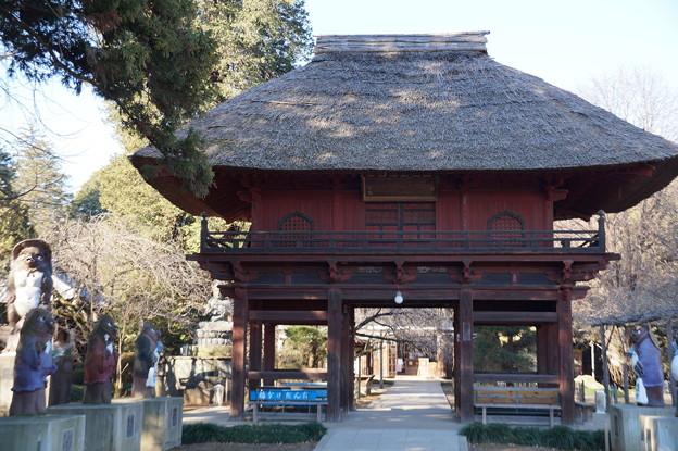 茂林寺 赤門