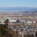 鰍沢町と甲府盆地 2