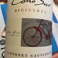 写真: Cono Sur Bicicleta Cabernet Sauvignon 2015