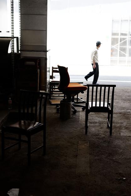 椅子のある場所