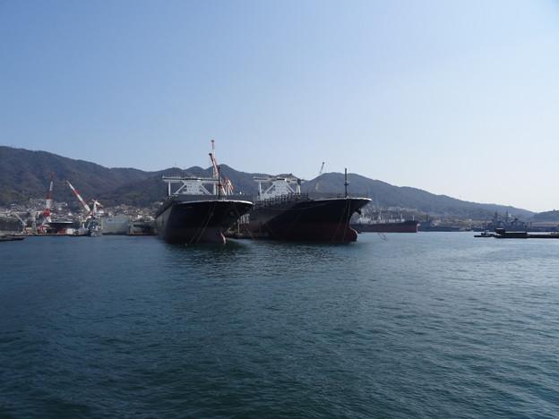 フェリー乗船(呉 ~ 広島港)   DSC00381