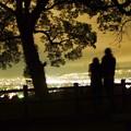 Photos: 夜景を眺める二人2