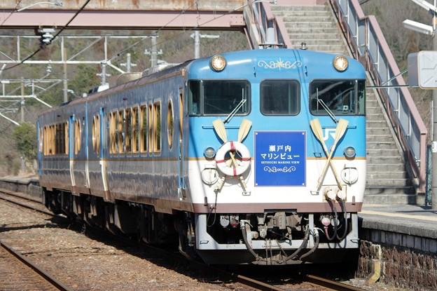 キハ47-7001~編成 瀬戸内マリンビュー