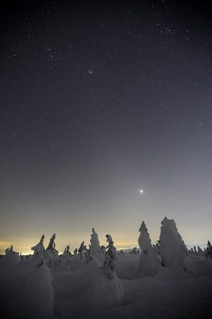 金星,昴と黄道光