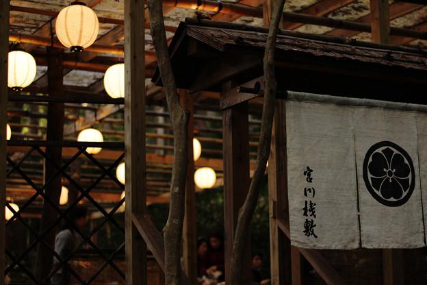 写真: 宮川桟敷