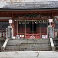 写真: 遠野卿八幡宮拝殿