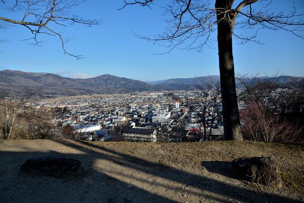 鍋倉城址からの遠野風景