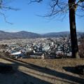 写真: 鍋倉城址からの遠野風景
