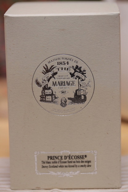 MARIAGE FRERES PRINCE D'ECOSSE - Prince of Scotland - Smokey White Tea - Scotland 外箱