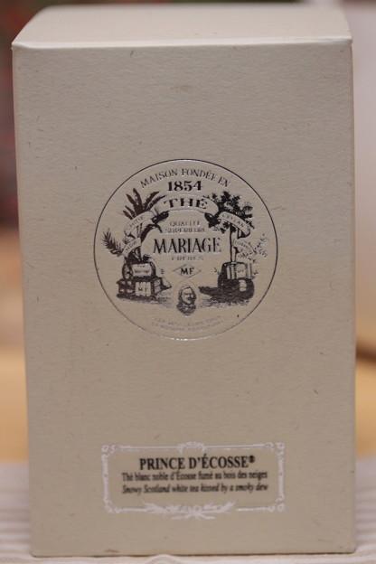 MARIAGE FRERES PRINCE D'ECOSSE - Prince of Scotland - Smokey White Tea - Scotland 外箱
