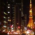 Photos: 夜の桜田通り(国道1号線)
