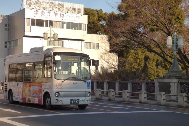 2016年『建国記念の日』の朝を走る「Kバス」