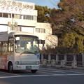写真: 2016年『建国記念の日』の朝を走る「Kバス」