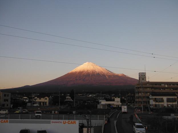 今日の富士山(2016/12/29)