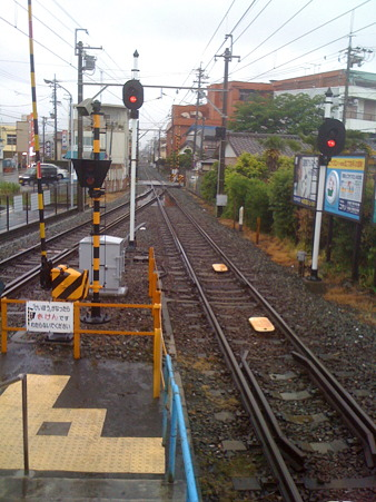 浜北駅遠州鉄道線路