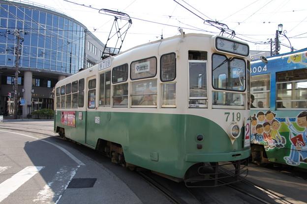 写真: 函館市電