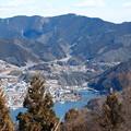 写真: 相模湖&景信山