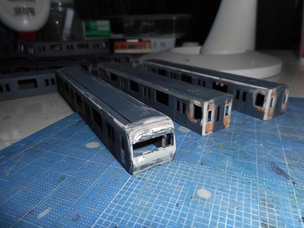 東京メトロ08系 前面加工