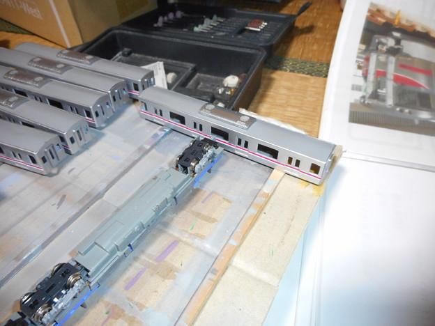 東京メトロ08系 クーラー取り付け