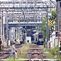 Photos: 向こうの駅