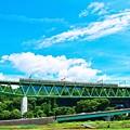写真: 天空への架け橋(2)