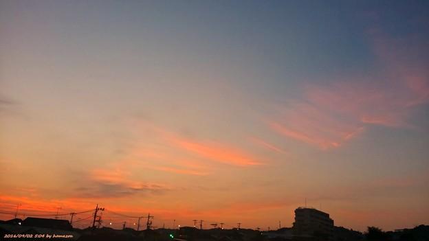 朝焼け(160902)