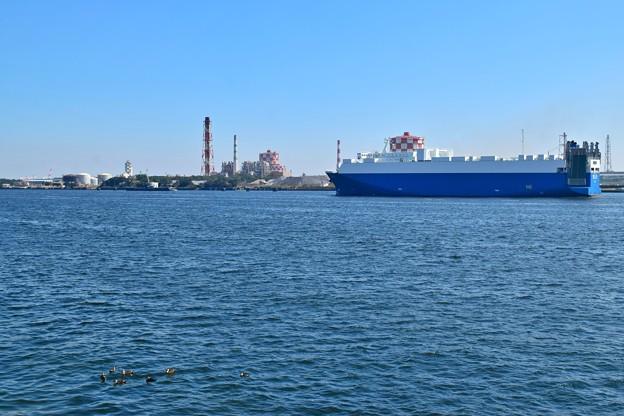 京浜運河の日王丸