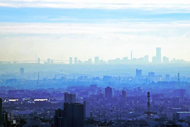 Sky blue Yokohama