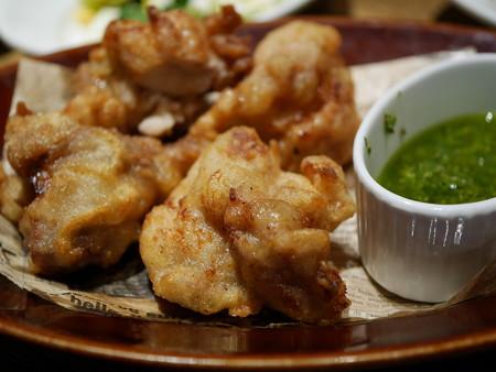 チキン(バジルソース付き)