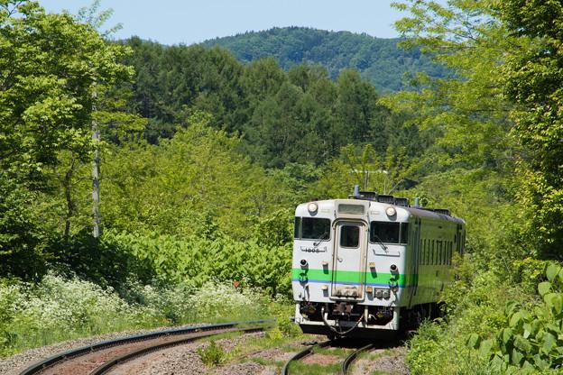 キハ40形@姫川駅